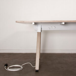 Commune Table + Intergrated Power Points