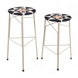 Graphic Soldier Stool