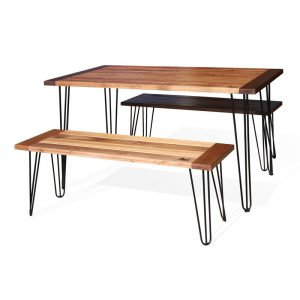 Outdoor Hairpin Table