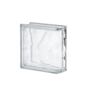 Glass Block SEVES Clear Wave Edge