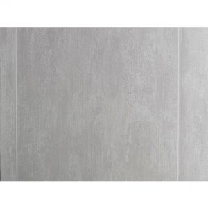 Interior Cladding PVC for Wall or Ceiling Stone Tile XL Grey 375X2600X8MM