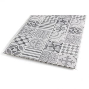 Wall Panel PVC Cement Tile 375X2600MM